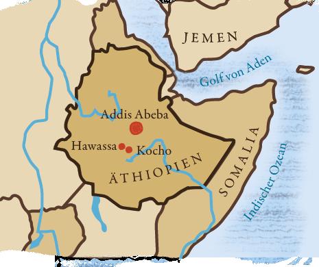 Unsere Standorte in Äthiopien