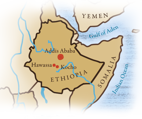 Our Locations in Ethiopia